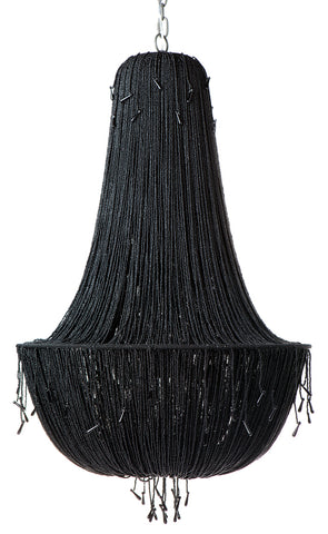 Allegra Chandelier 8 Arm Black