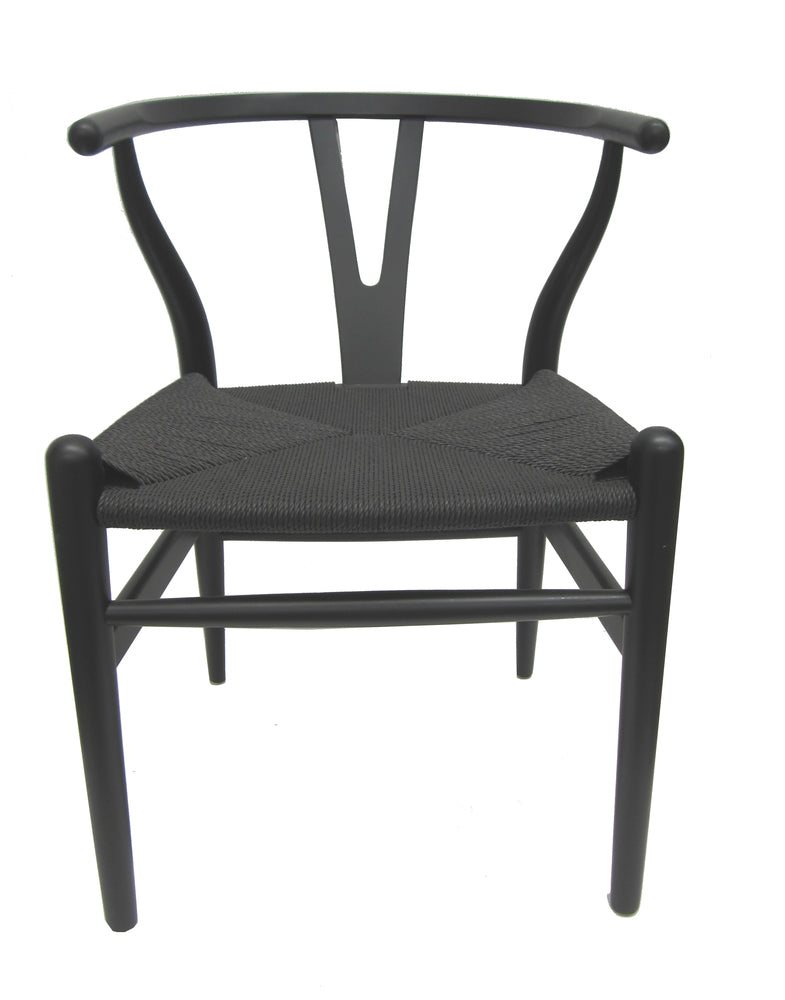 Wishbone Chair Black ...