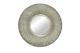 Aaida Pressed Metal Mirror