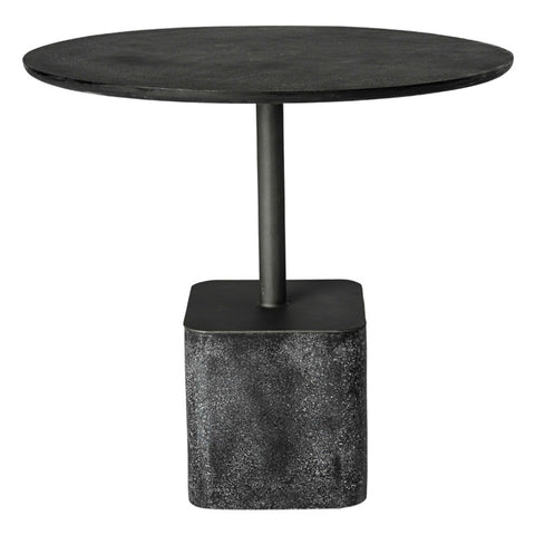 Perry Outdoor Side Table Black