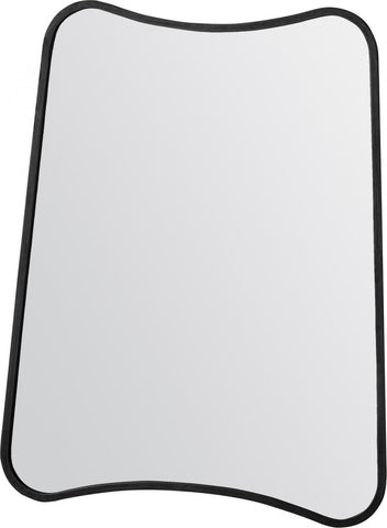 Karl Rustic Black Wall Mirror