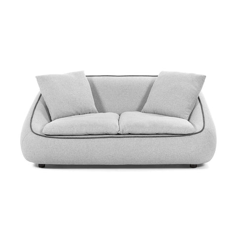 Macey 3 Seater Sofa Light Grey