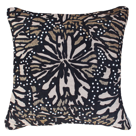 Outdoor Butterfly Lounge Cushion Black
