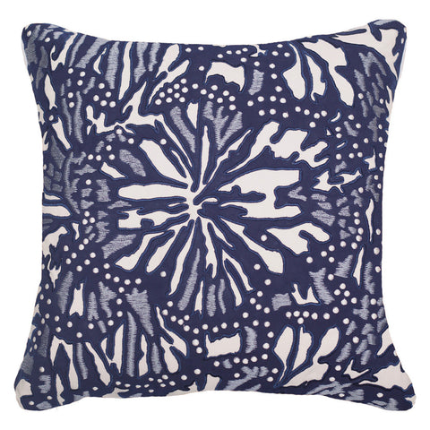 Outdoor Butterfly Lounge Cushion Navy