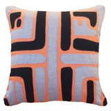 Outdoor Maze Lounge Cushion Orange