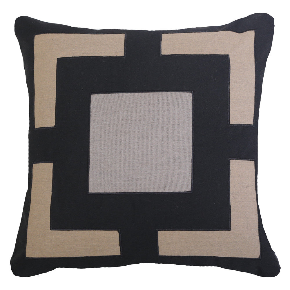 Outdoor Panel Lounge Cushion Black
