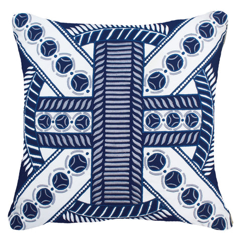 Outdoor Ring Lounge Cushion Navy