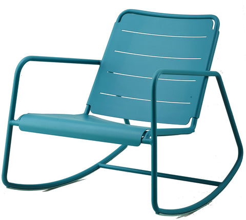 Copenhagen Rocking Chair Aqua