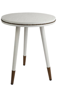Danish Side Table White