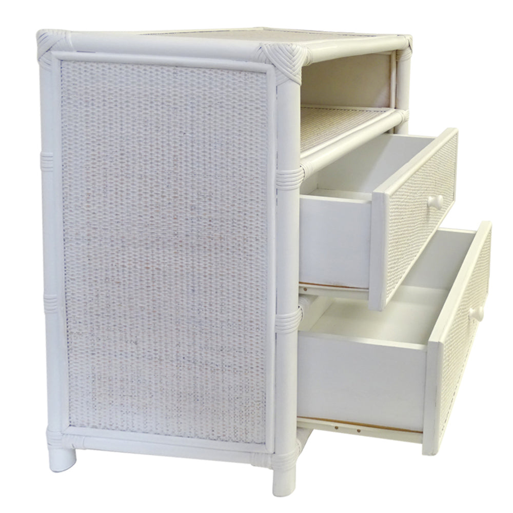 Canary Islands Rattan Bedside