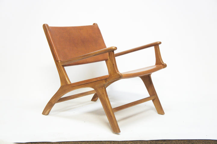 Fez Leather Armchair Tan