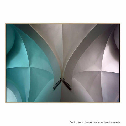 Arch II Canvas Print with Floating Frame