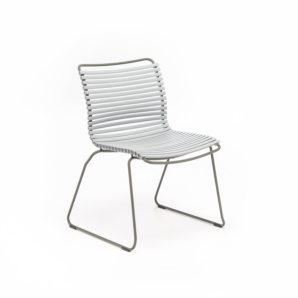 Click Outdoor Dining Chair Grey