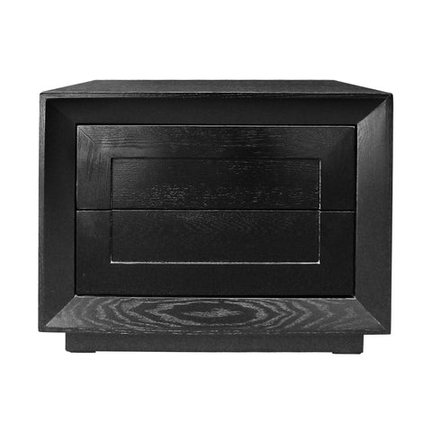 Montreal Bedside Table Black