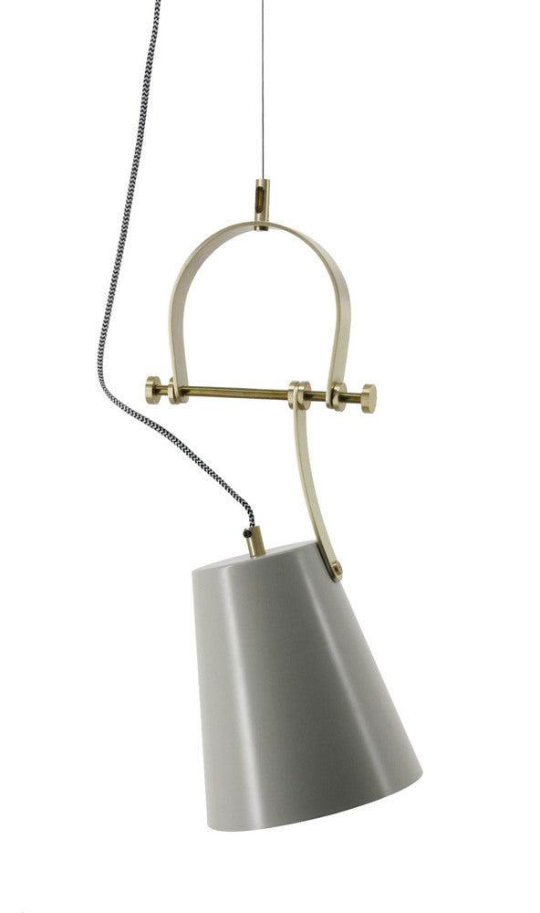 Turnberry Pendant Grey