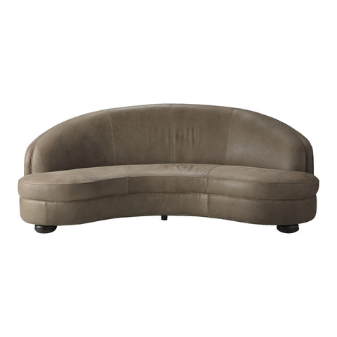 Santos Sofa Mushroom Leather