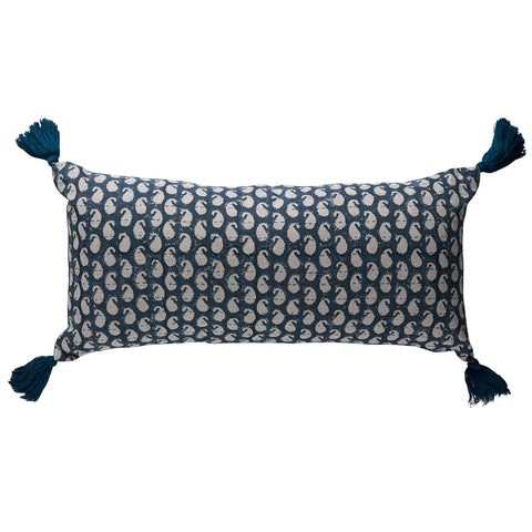 Balveer Kantha Navy Cushion