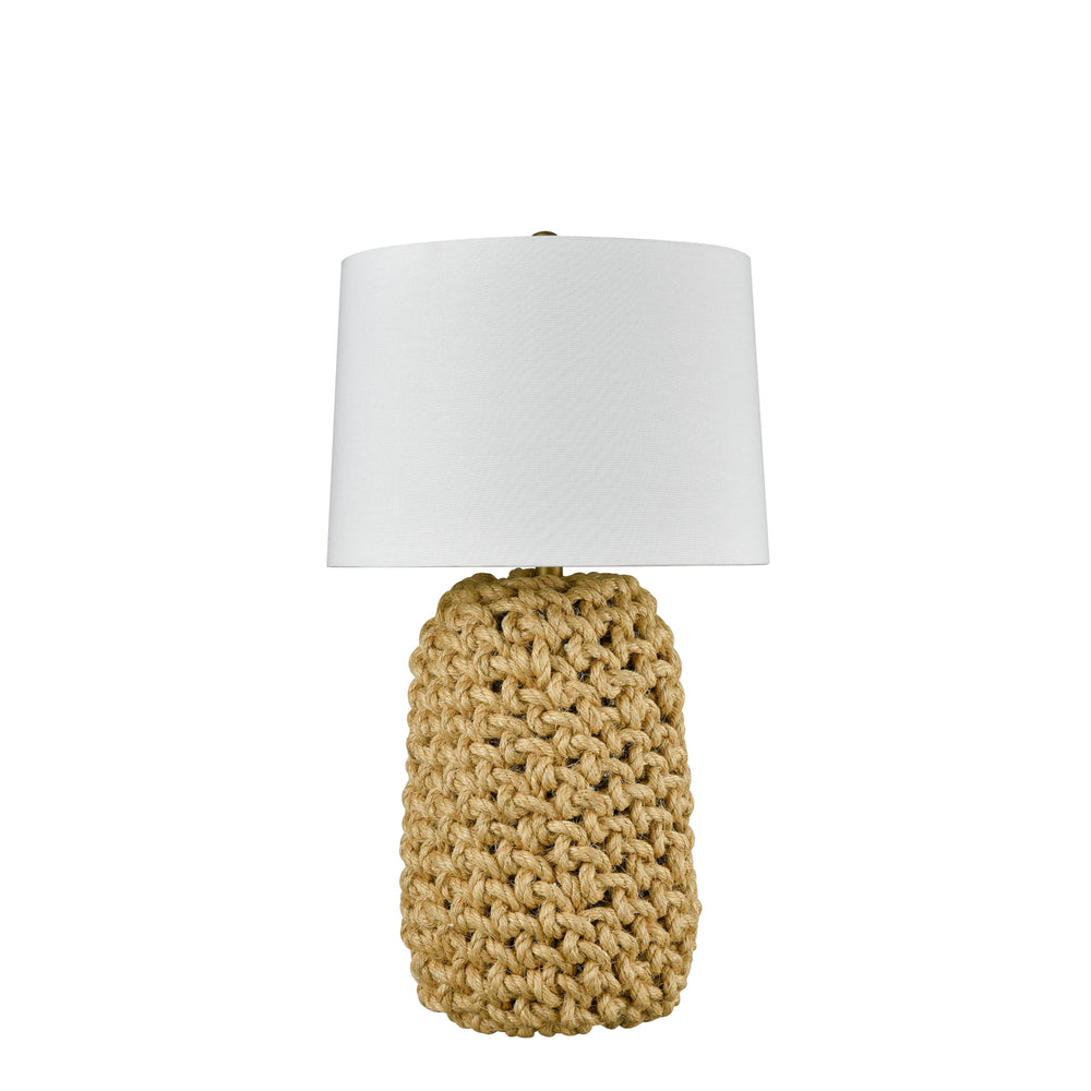 Noosa Table Lamp with White Shade Small