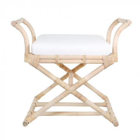 Sumba Cross Leg Stool Natural