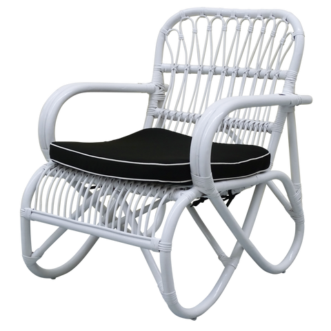 Lewis Chair White/Black
