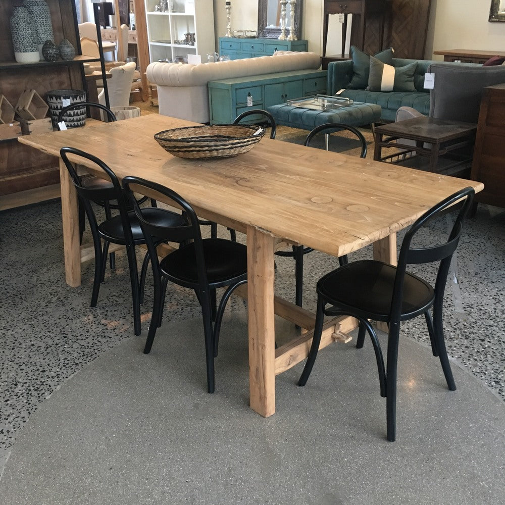 Elm Village Door Dining Table Various Sizes