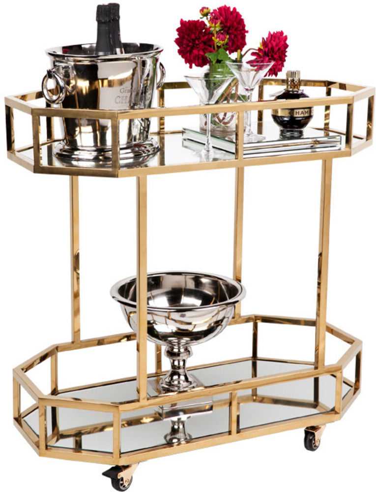 Brooklyn Drinks Trolley Gold