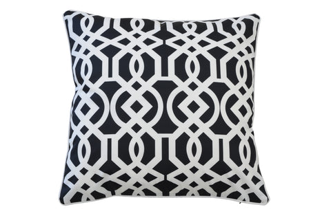 Pebble Grey Velvet Cushion