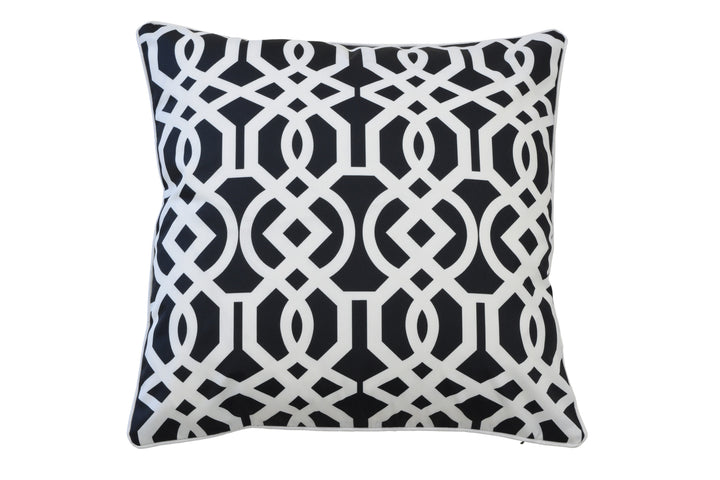 Monaco Indoor/Outdoor Cushion Black