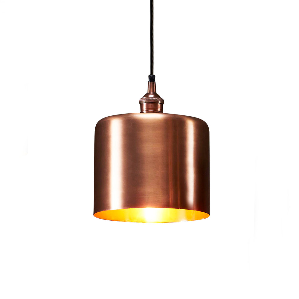 Lugano Pendant Antique Copper Medium