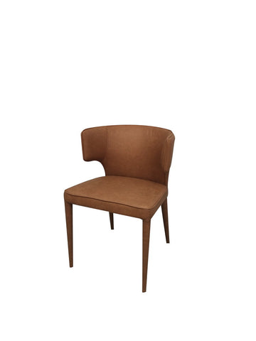Minori Dining Chair Tan PU