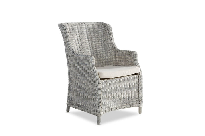 Ios Outdoor Dining Chair Weathered Grey