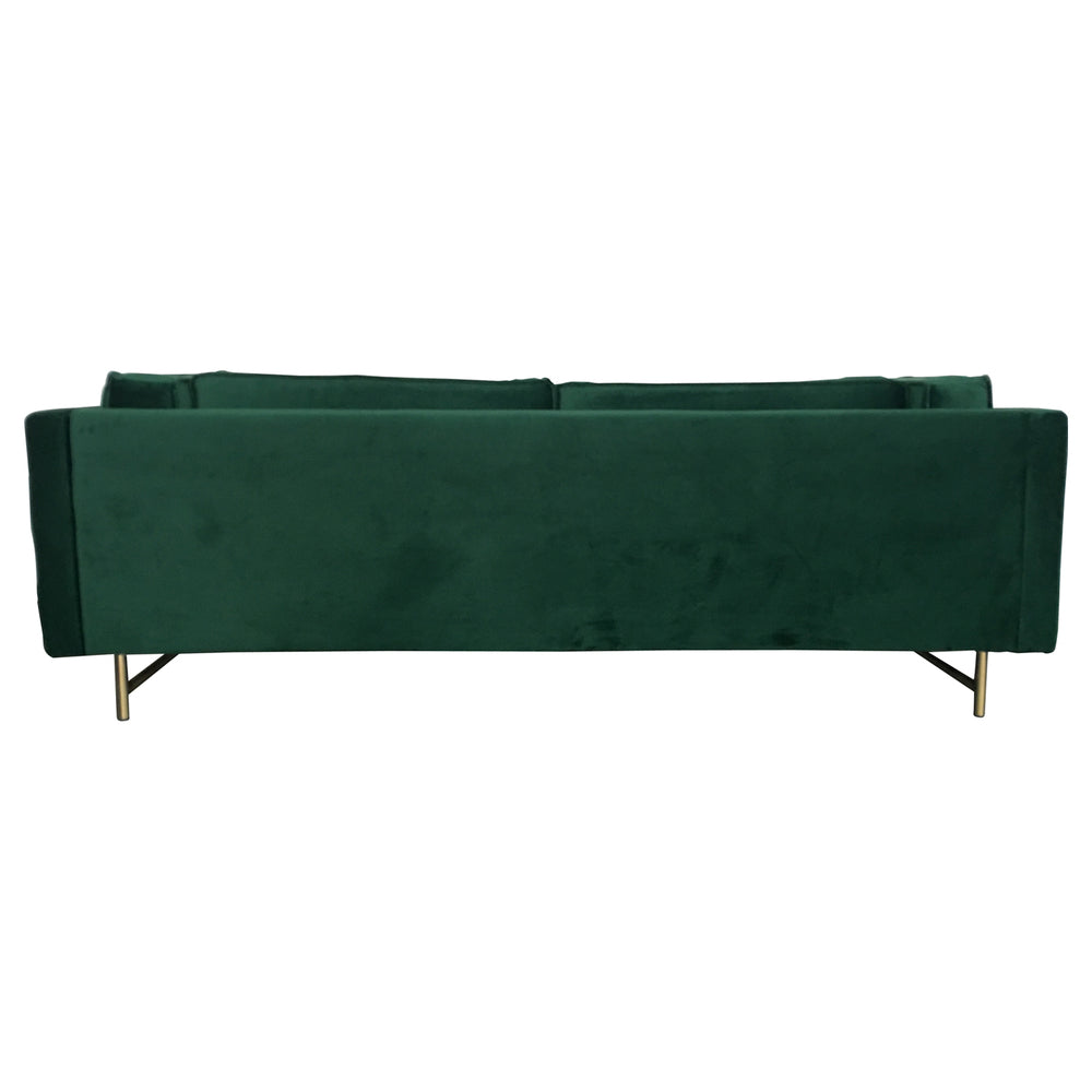 Carmen 3 Seat Sofa Emerald Green