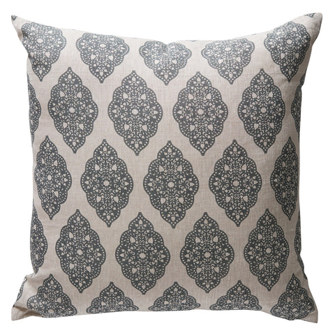 Balveer Tuli Grey Cushion