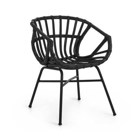 Wire Side Table/Stool Black