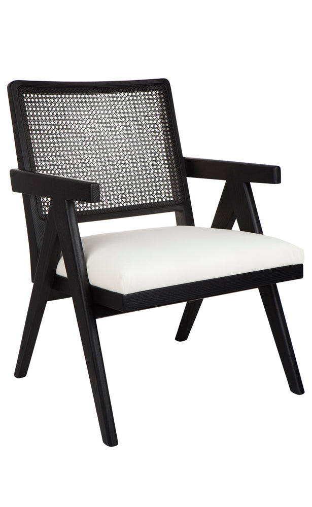 Raffles Armchair Black