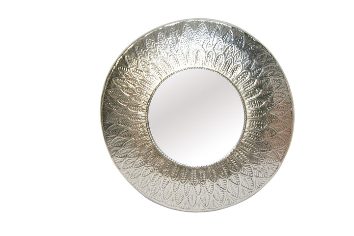 Polly Pressed Metal Mirror