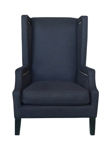 Emperor Armchair Black