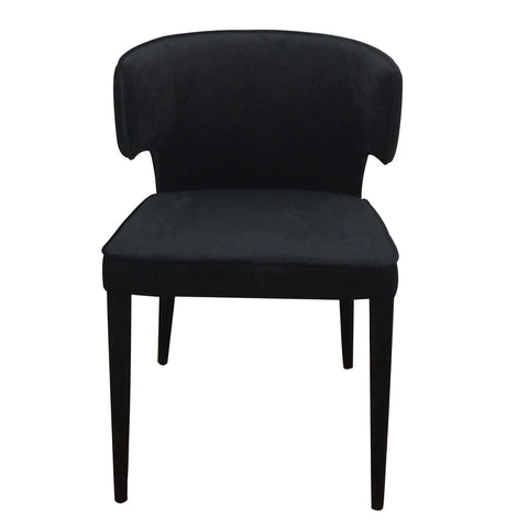 Minori Dining Chair Black Velvet