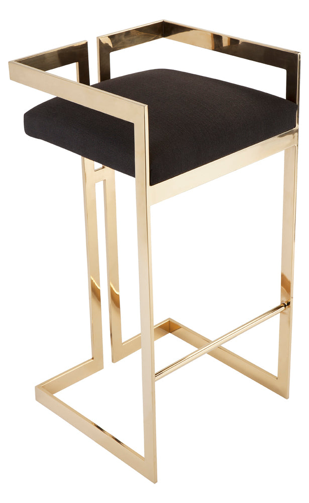 Barclay Barstool Black