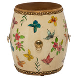 Butterfly Drum Stool/Side Table