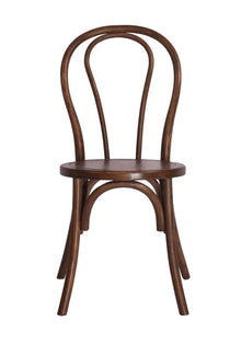 Brent Stackable Dining Chair with Timber Seat