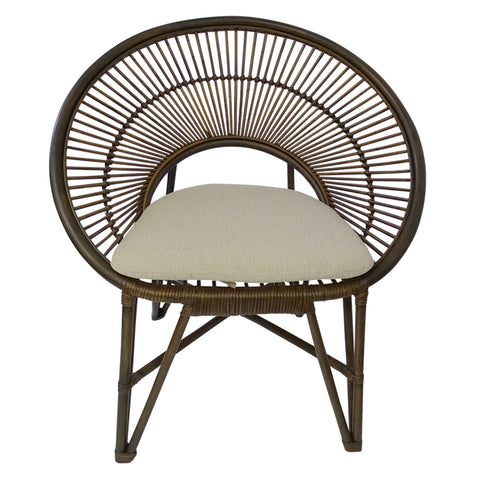 Le Blanc Chair Tobacco