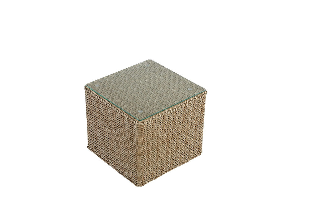Andros Outdoor Side Table Natural