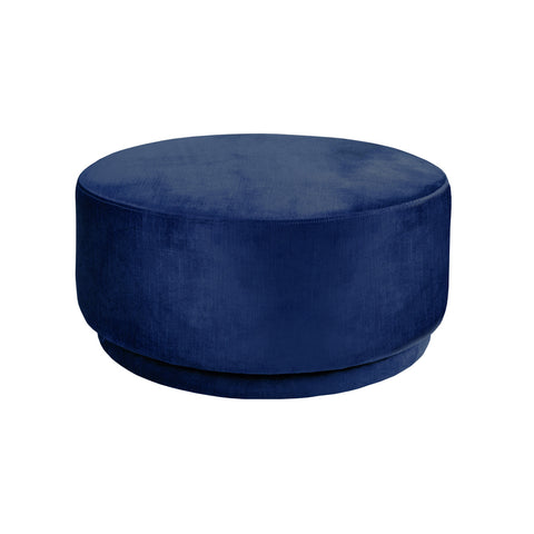 Maxwell Swivel Chair Vintage Navy Velvet