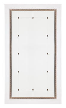 Columbo Floor Mirror White