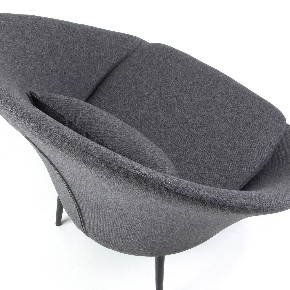 Heritage Arm Chair Dark Grey