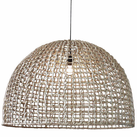 Abby Large Pendant Light Natural