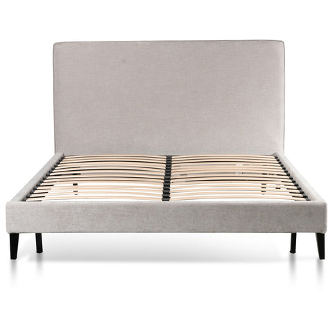 Collins Bed King Comfort Grey