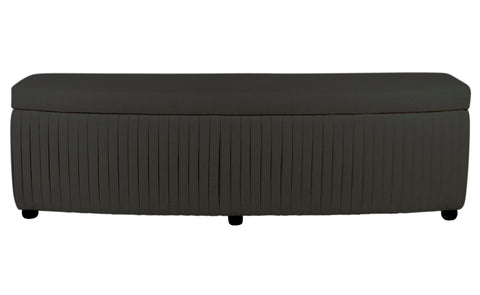 Audrey Storage Bench Grey