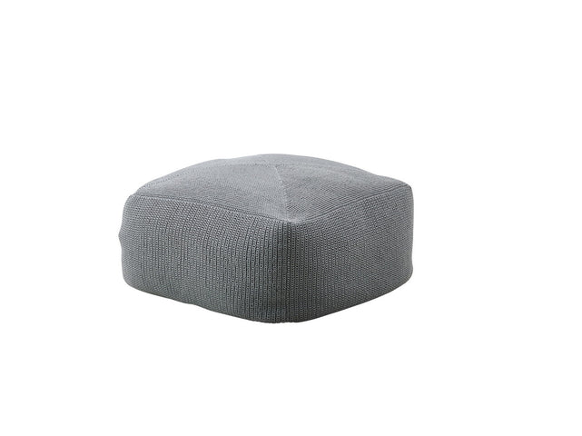 Divine Indoor/Outdoor Ottoman Grey